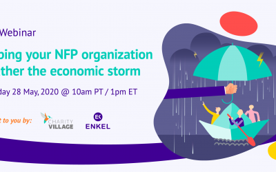 Helping your NFP Organization Weather the Economic Storm